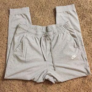 Nike sweatpants men's size Xl